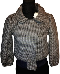 Steven Alan Wool Quilted Plaid Jacket
