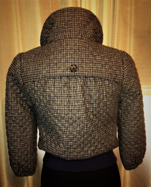 Steven Alan Wool Quilted Plaid Jacket Image 1