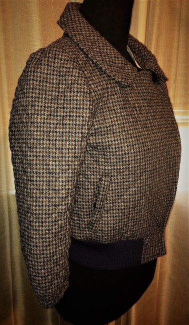 Steven Alan Wool Quilted Plaid Jacket Image 3