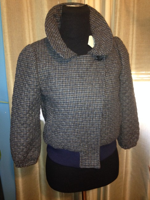 Steven Alan Wool Quilted Plaid Jacket Image 4