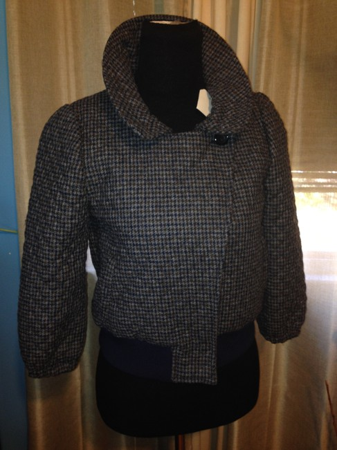 Steven Alan Wool Quilted Plaid Jacket Image 5