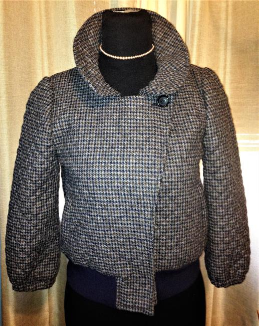 Steven Alan Wool Quilted Plaid Jacket Image 6