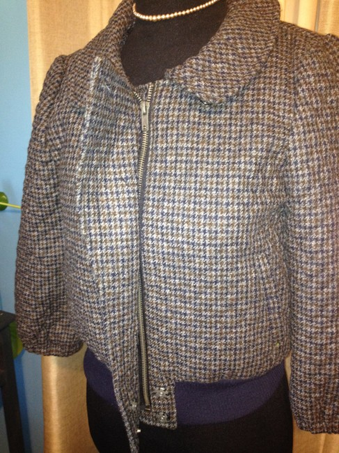 Steven Alan Wool Quilted Plaid Jacket Image 9