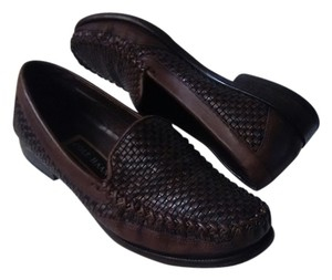 Cole Haan Loafers Vintage Leather Brown Flats