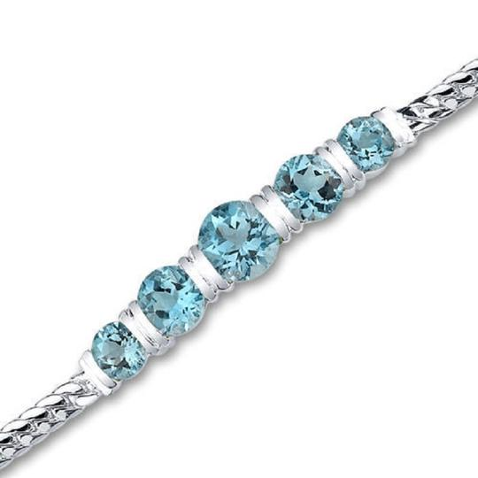 Other Swiss Blue Topaz Bracelet Image 1