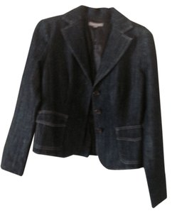 Ann Taylor Designer Casual Dress Jacket Casual Jacket Work Jacket Bluejacket Bkue Denim Blazer