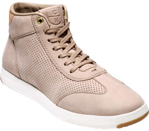 Cole Haan High Top Sneaker Maple Sugar Nubuck Athletic