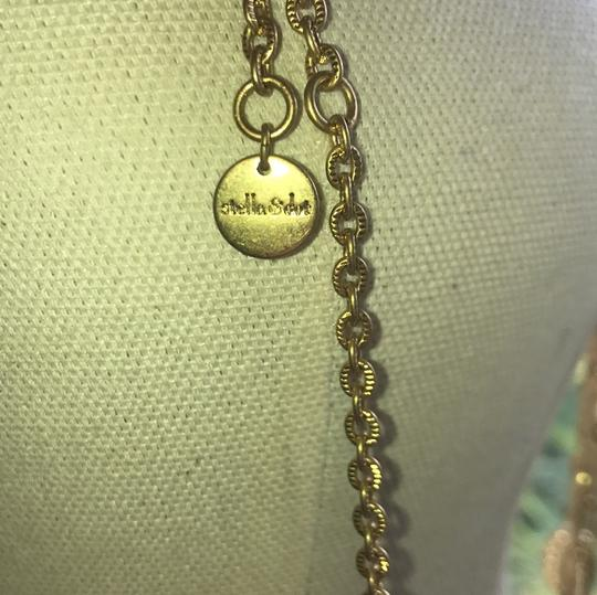 Stella & Dot Fun, detailed and adjustable gold necklace Image 4