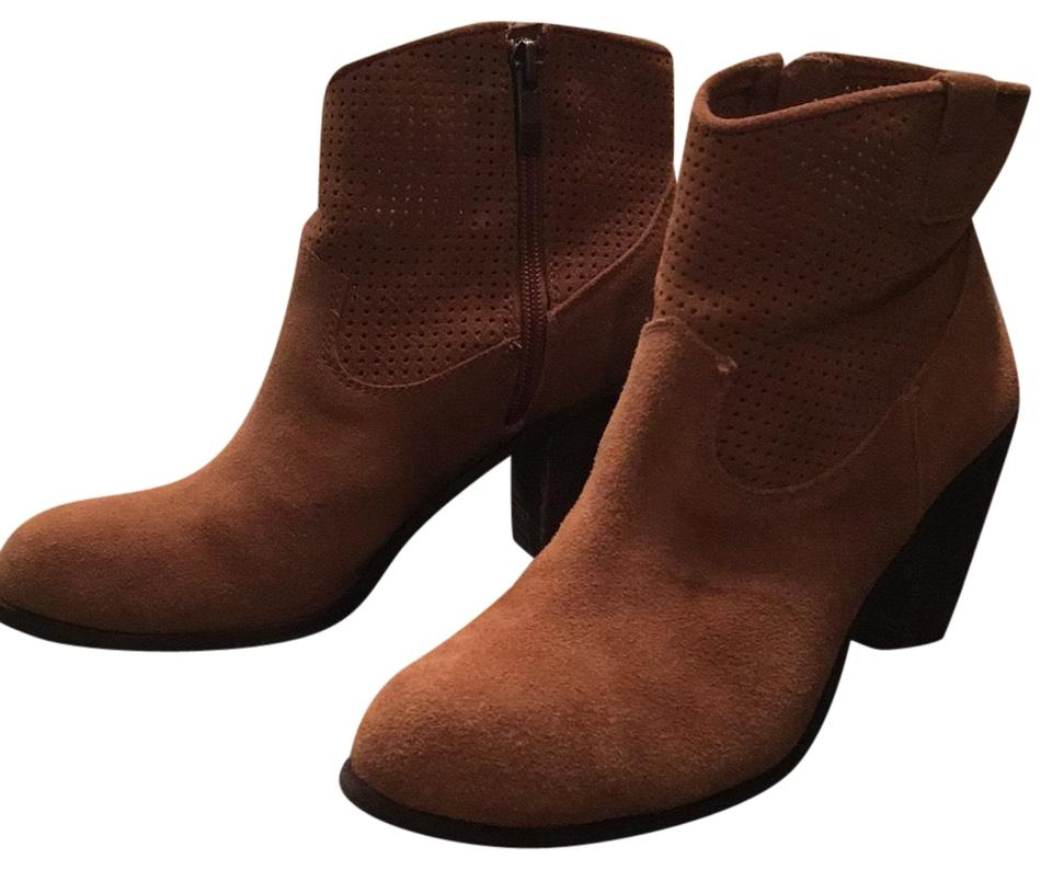 LADY Camuto Vince Camuto LADY Brown Holden Boots/Booties brand e2e914