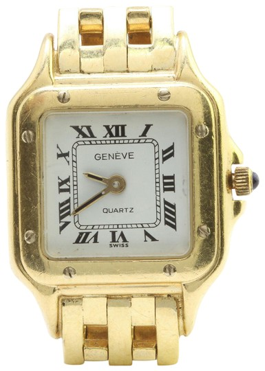 Preload https://img-static.tradesy.com/item/22425057/geneve-yellow-gold-italy-ladies-14k-solid-swiss-made-dress-watch-0-1-540-540.jpg