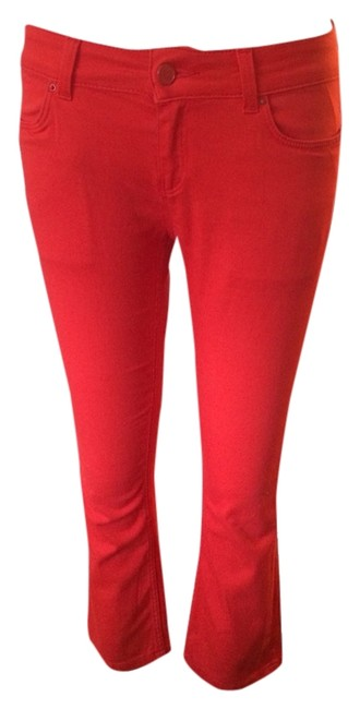 Preload https://item2.tradesy.com/images/zara-red-capricropped-jeans-size-26-2-xs-2242516-0-0.jpg?width=400&height=650