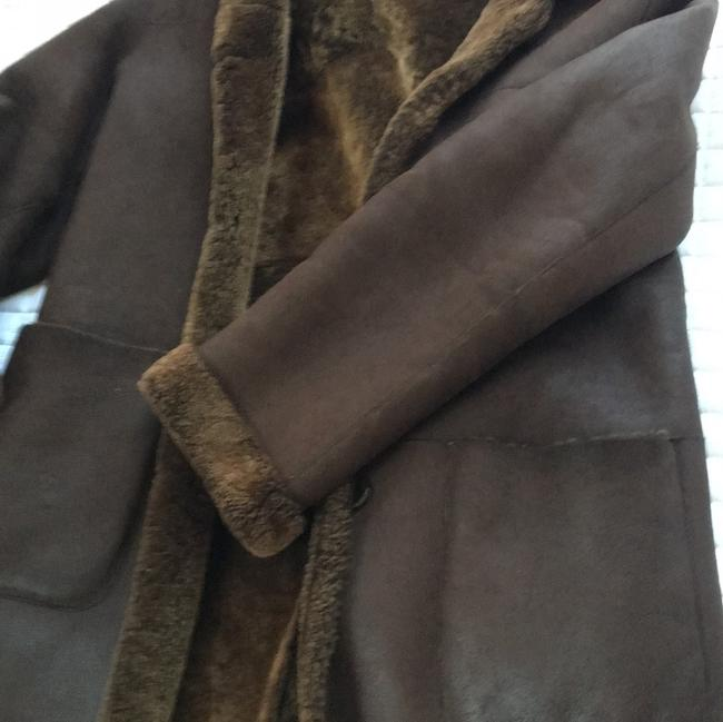 Fratelli Rossetti Brown Leather Jacket