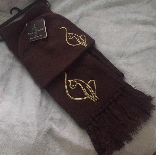 Baby Phat 2 Piece Scarf w/ matching hat, by Kimora Lee Simmons