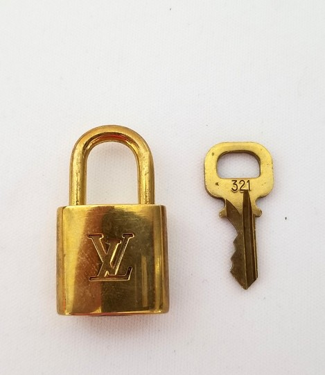 Louis Vuitton Louis Vuitton Padlock and key