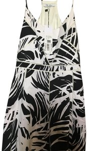 Parker short dress black/white Fit And Flare Spaghetti Strap on Tradesy