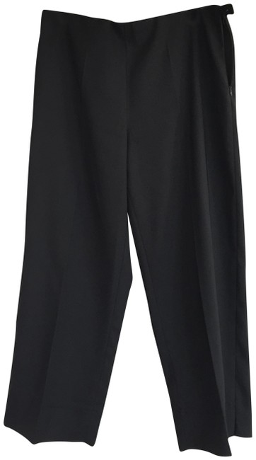 Krazy Larry Casual Beach Business Casual Capris Black