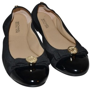 a523e49f4 Michael Kors BLACK leather / patent leather Flats