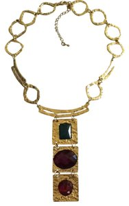United Colors of Benetton Contemporary Multi Gem Necklace
