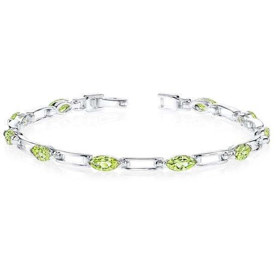 Other Marquise Peridot Bracelet