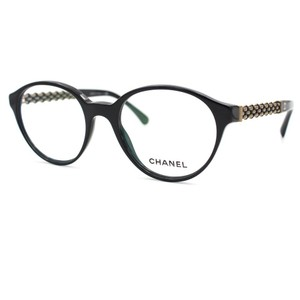 Chanel Chanel Prescription Eyeglasses CH3319 Black Optical Frame 51mm