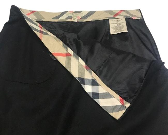 Preload https://img-static.tradesy.com/item/22425672/burberry-black-wool-blend-pencil-with-pocket-and-bow-skirt-size-8-m-29-30-0-3-650-650.jpg