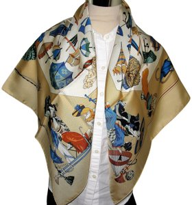 Herms Hermes Silk Scarf 90cm Carre