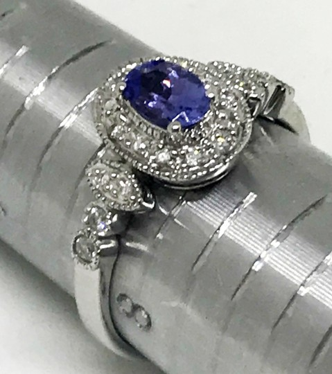 Unknown Tanzinite Vintage Inspired Ring