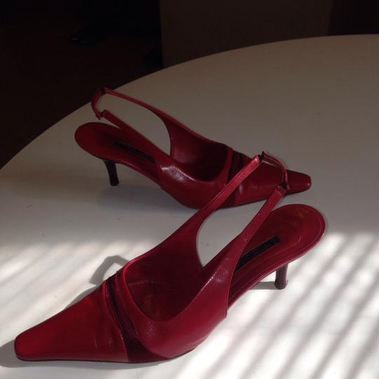 Narciso Rodriguez red Pumps