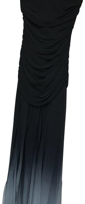 Item - Black and Grey Long Formal Dress Size 2 (XS)