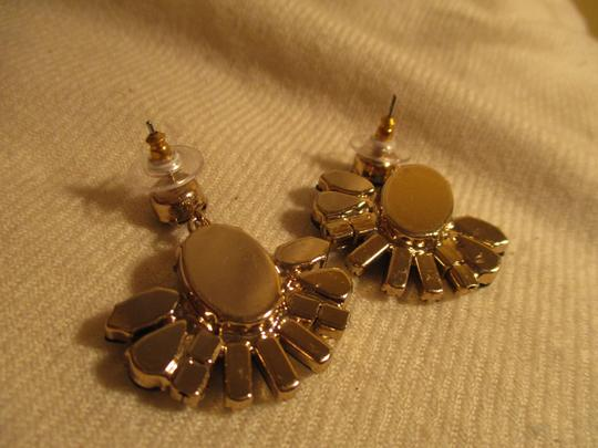 J.Crew faceted stones with rhinestones