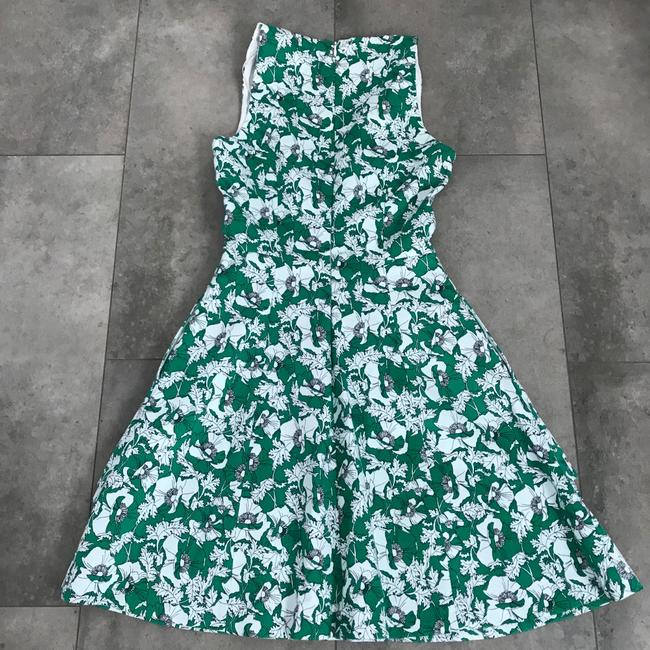 green white Maxi Dress by Zara Floral