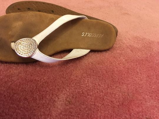 Aerosoles Well Known Brand Comfortable Go With Everything Great Price WHITE Sandals