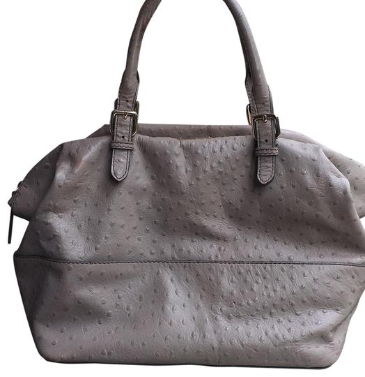 Preload https://img-static.tradesy.com/item/22426397/kate-spade-ostrich-taupe-leather-satchel-0-2-540-540.jpg