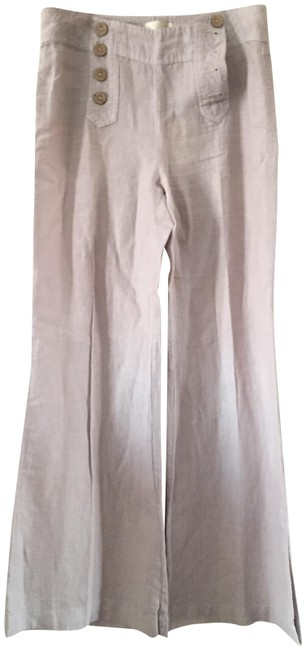 Preload https://img-static.tradesy.com/item/22426405/light-gray-wide-flare-pants-size-8-m-29-30-0-1-650-650.jpg