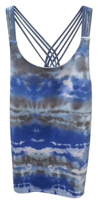 Item - Blue White Gray Activewear Top Size 8 (M, 29, 30)