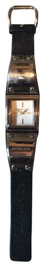 Preload https://img-static.tradesy.com/item/22426475/michael-michael-kors-black-leather-stainless-steel-watch-0-1-540-540.jpg