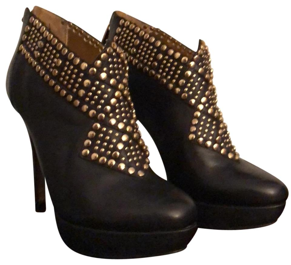 Ted Baker Black Langley Court Boots/Booties Collection Studded Boots/Booties Court 9ebf07