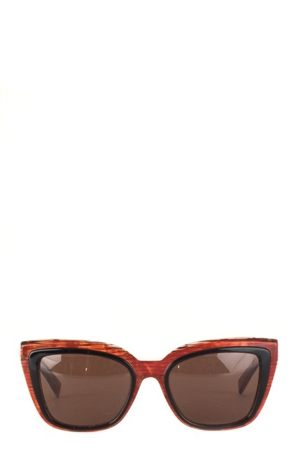 Item - Red Abstract Sunglasses