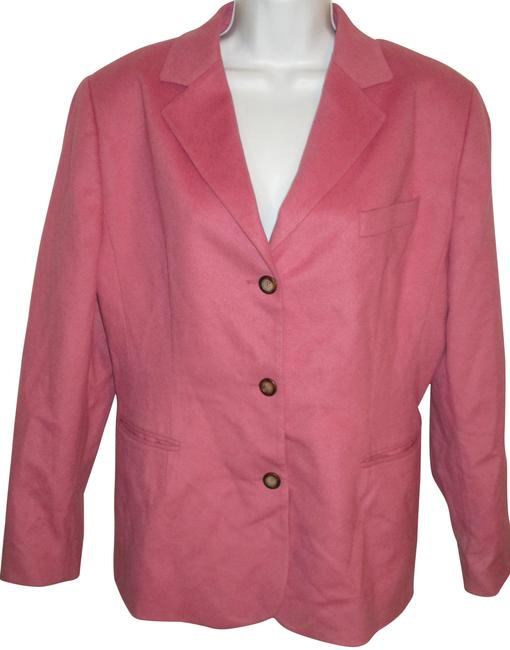Preload https://img-static.tradesy.com/item/22426583/pink-wool-and-cashmere-14p-blazer-size-petite-14-l-0-2-650-650.jpg