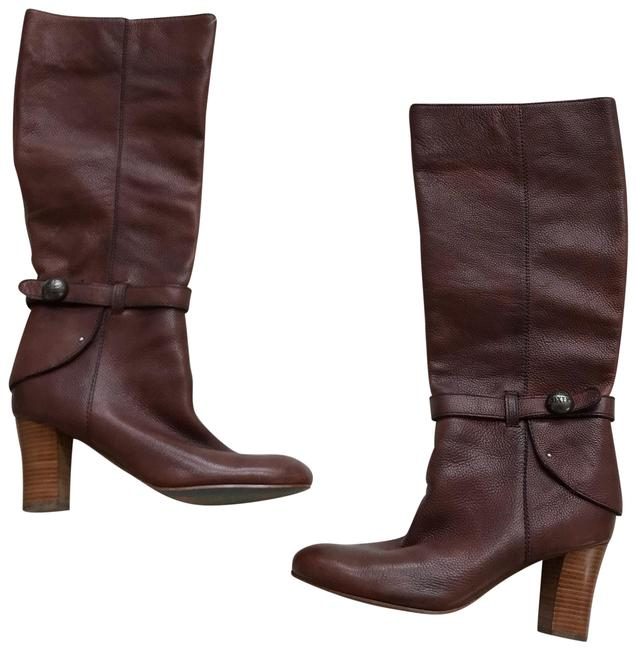 Item - Cognac Brown Leather Harness Boots/Booties Size US 9 Regular (M, B)