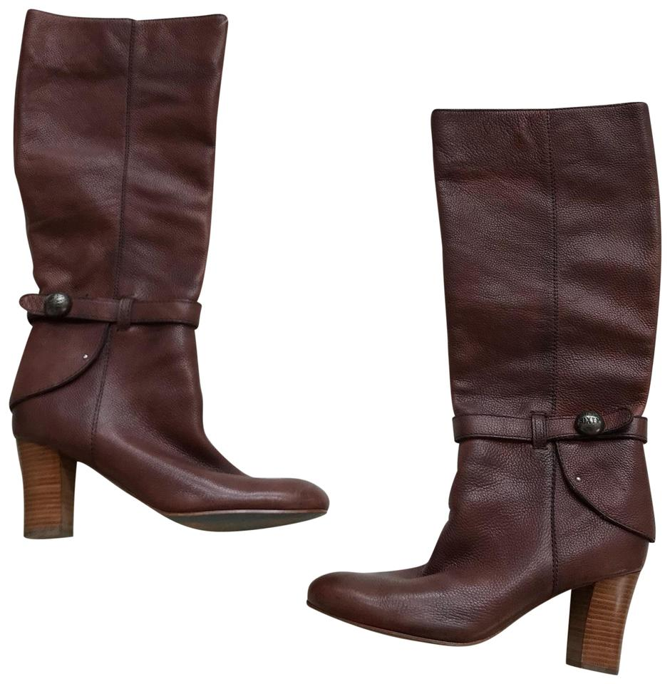Miss Harness Sixty Cognac Brown Leather Harness Miss Boots/Booties 30029e