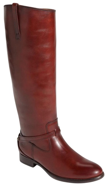 Item - Burnt Red 's Lindsay Plate Boots/Booties Size US 7.5 Regular (M, B)