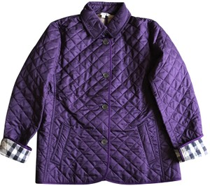 Burberry Purple Jacket