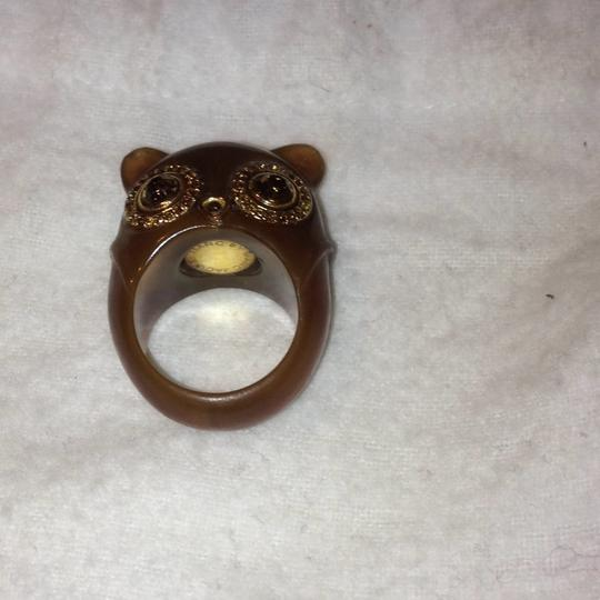 Marc Jacobs wise owl ring