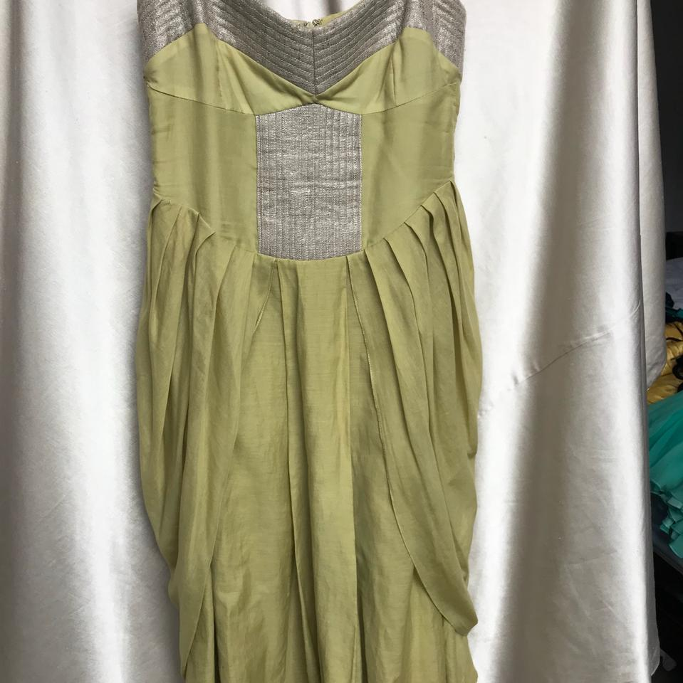 Olive Green Mid-length Cocktail Dress Size 2 (XS) - Tradesy