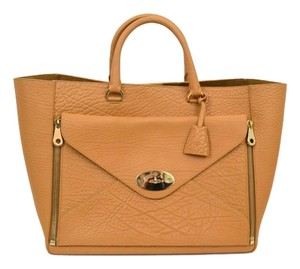 Mulberry Tote in tan brown