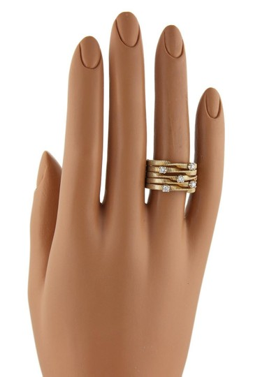 Marco Bicego Marrakech Diamond 5 Row 18k Gold Ring