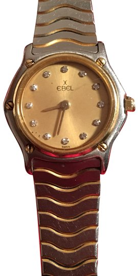 Preload https://img-static.tradesy.com/item/22427561/ebel-gold-and-stainless-steel-ladies-watch-0-2-540-540.jpg