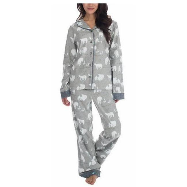Preload https://img-static.tradesy.com/item/22427593/gray-pajama-set-shirt-and-pants-button-down-top-size-4-s-0-1-650-650.jpg