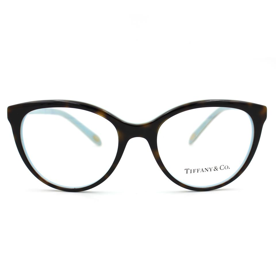 Tiffany & Co. Havana and Blue Prescription Glasses Frame 2134 ...